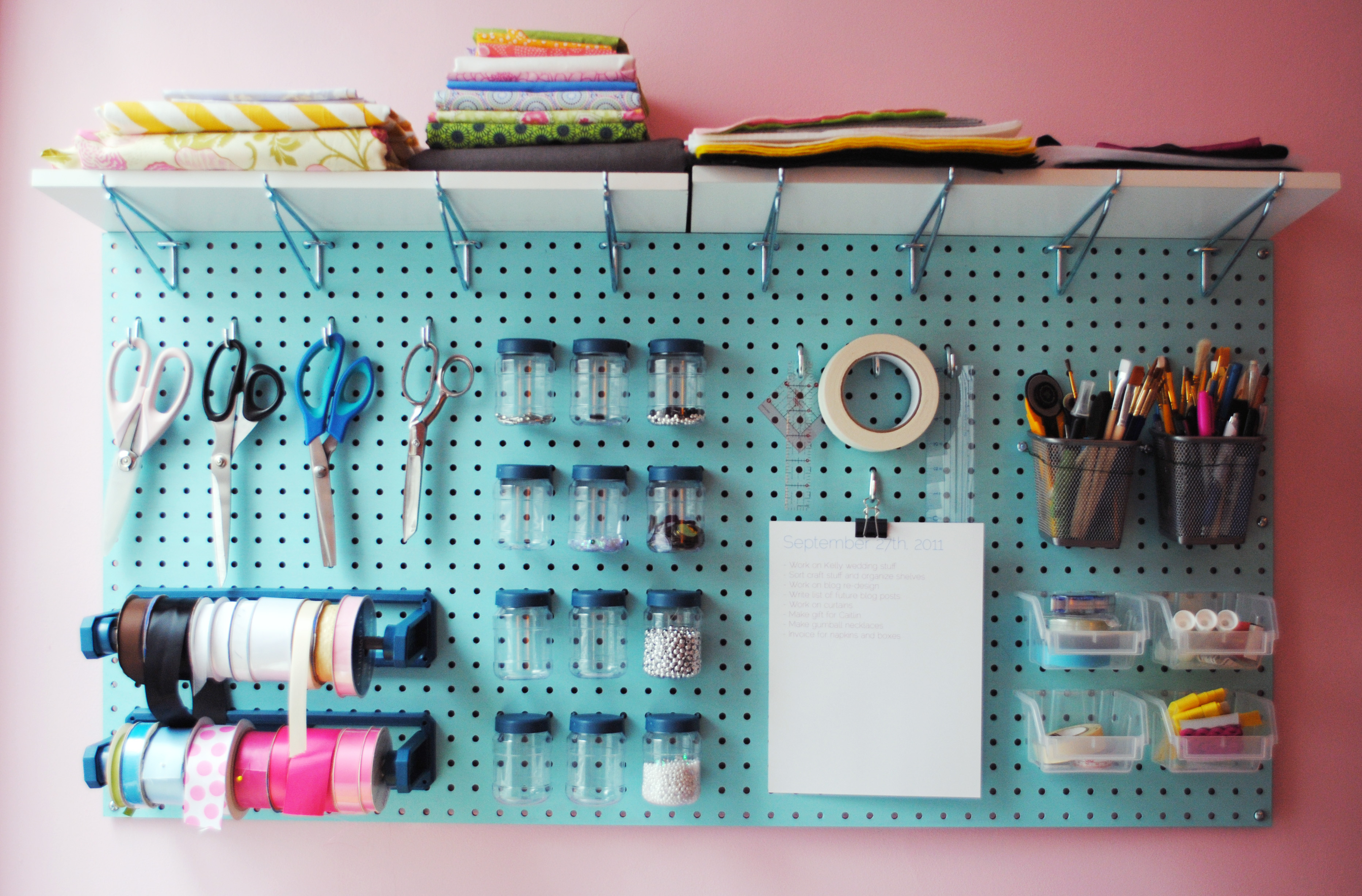 Craft Room Pegboard 3729 x 2454