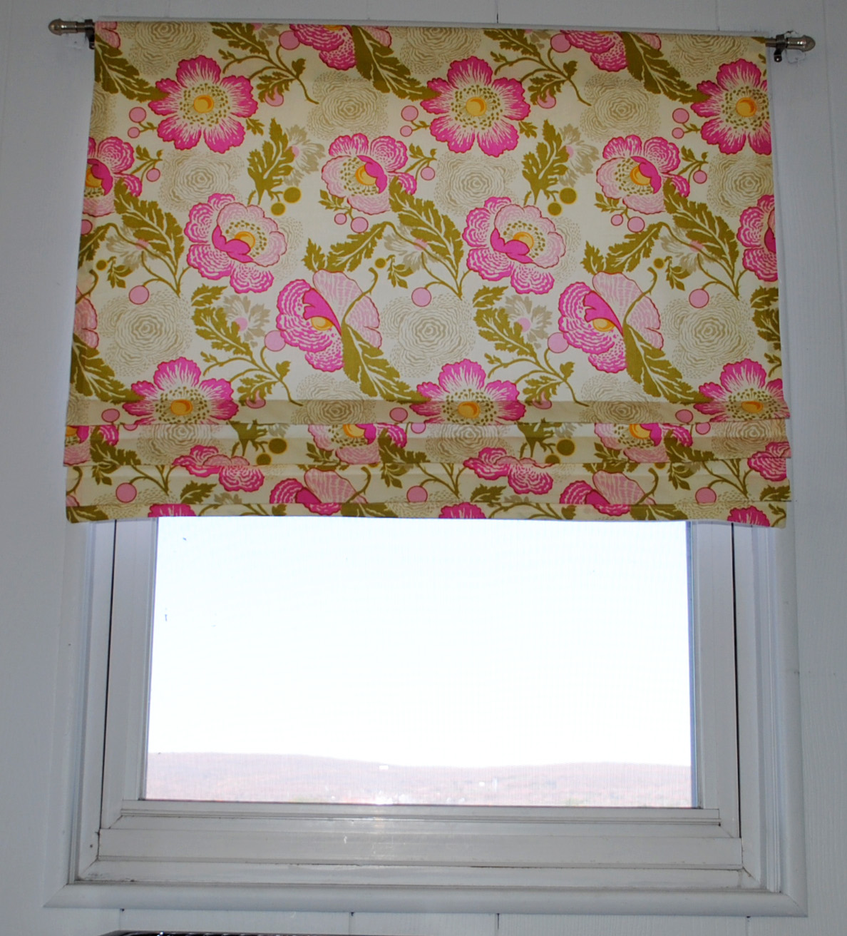 Easy Make Kitchen Curtains