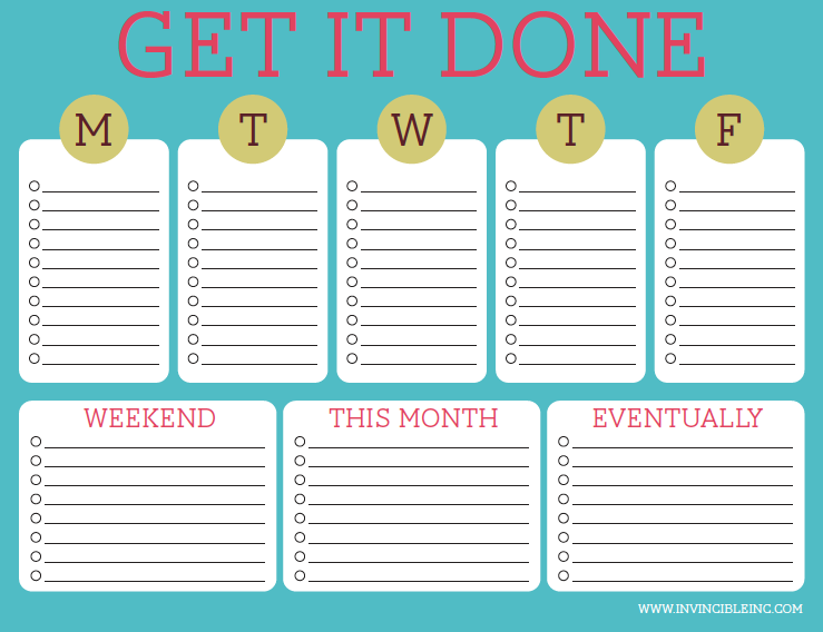 photograph regarding Printable to Do Lists for Work known as A Frugal Existence: Absolutely free Printable Towards-Do Lists