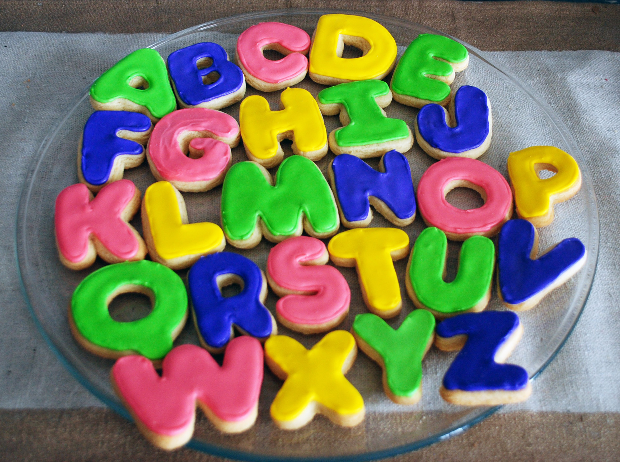 before i let him have any cookies i made andrew spell his name